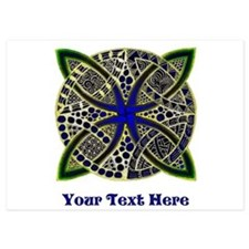 Customize this Symbolic Celtic Knot Doodle Invitations