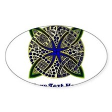 Customize this Symbolic Celtic Knot Doodle Decal