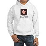 Bingo Girl Center Square Star Hooded Sweatshirt