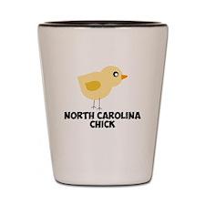 North Carolina Chick Shot Glass