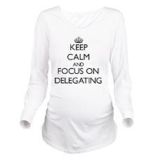 Unique Authors Long Sleeve Maternity T-Shirt