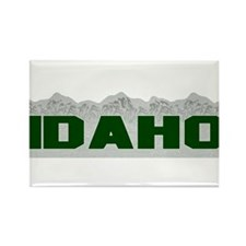 Idaho Rectangle Magnet