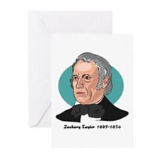Zachary Taylor Greeting Cards (Pk of 10)
