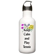 Keep Calm and Play Ten Water Bottle