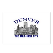 Denver . . . The Mile-High Ci Postcards (Package o