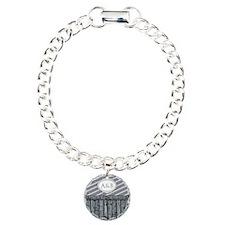 Maritime Monogram Gray Bracelet