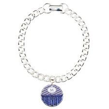 Maritime Monogram Blue Bracelet