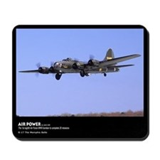 Airplane, B-17 The Memphis Belle, Mousepad