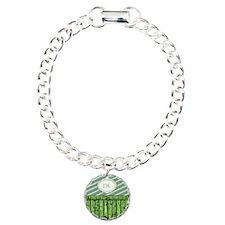 Maritime Monogram Green Bracelet