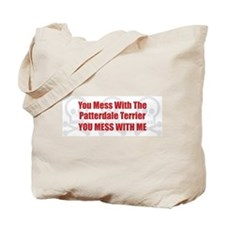 Mess With Patterdale Tote Bag