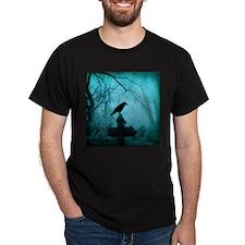 Blue Mist Crow T-Shirt
