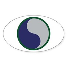29th Infantry Division Oval Decal