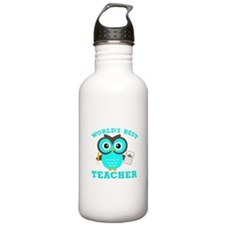 World's Best Teacher (Blue) Water Bottle