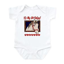 Mikayla Horse Birthday Infant Bodysuit