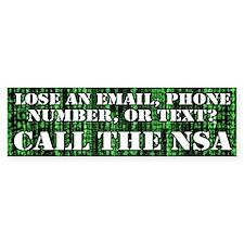 n.s.a. Bumper Sticker