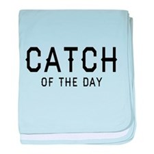 Catch Of The Day baby blanket