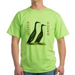 Black Runners Green T-Shirt