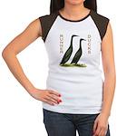 Black Runners Women's Cap Sleeve T-Shirt