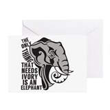 Elephant Greeting Cards (20 Pack)