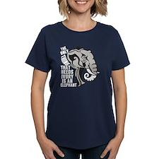 Save Elephants Tee