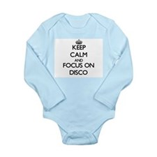 Keep Calm and focus on Disco Body Suit