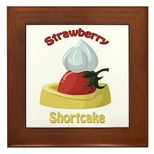 Strawberry Shortcake Framed Tile