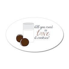 Love & Cookies Wall Decal