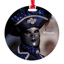 Blue mask Ornament