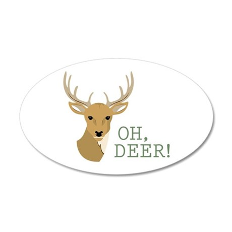 Oh, Deer! Wall Decal