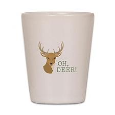 Oh, Deer! Shot Glass