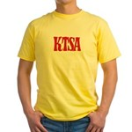KTSA San Antonio '63 - Yellow T-Shirt