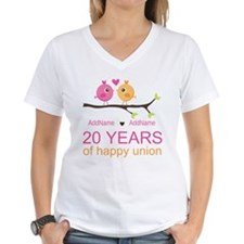 Personalized 20th Anniversa Shirt