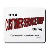 Customer Service Rep Mousepad