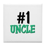 Number 1 UNCLE Tile Coaster