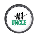 Number 1 UNCLE Wall Clock