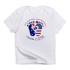 Australian American Baby Infant T-Shirt