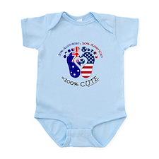 Australian American Baby Infant Bodysuit