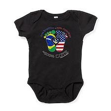 Brazilian American Baby Baby Bodysuit