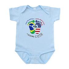 Brazilian American Baby Infant Bodysuit