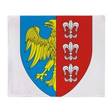 Eagle with shield 2 Throw Blanket