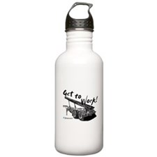 Roll Off Workers Water Bottle