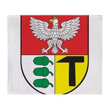 Eagle with shield 3 Throw Blanket