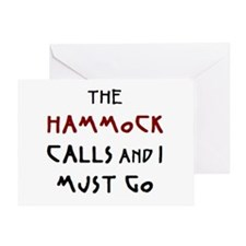 hammock calls Greeting Card