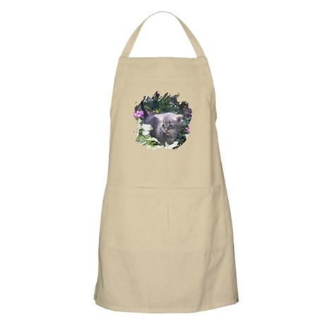 Flower Kitten BBQ Apron