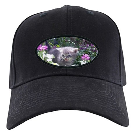 Flower Kitten Black Cap