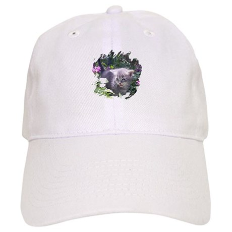 Flower Kitten Cap