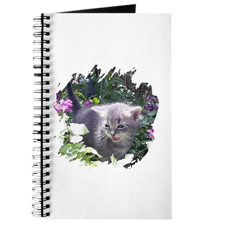 Flower Kitten Journal