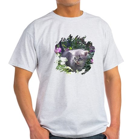 Flower Kitten Light T-Shirt