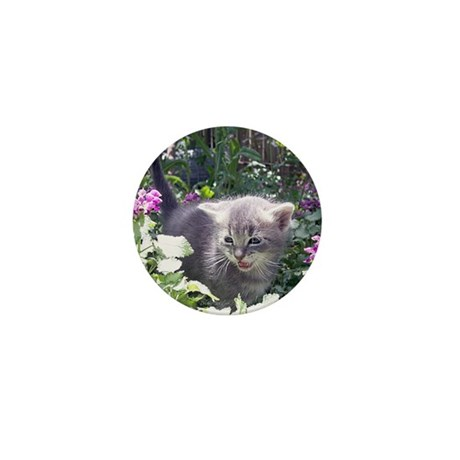 Flower Kitten Mini Button (100 pack)