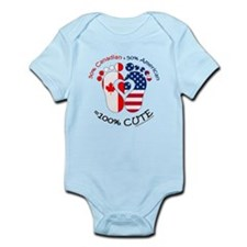 Canadian American Baby Infant Bodysuit